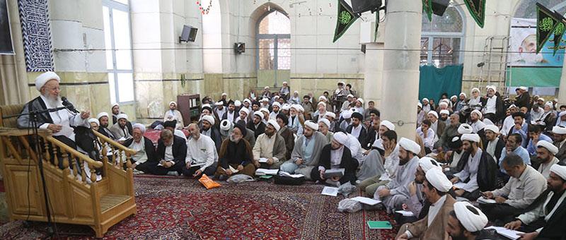 درس خارج آیت الله مکارم شیرازی